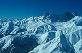 Mount Del Caucasian mountains Georgia - Stock Image - AMGY19