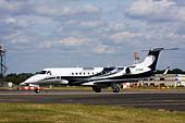 London Executive Aviation (LEA) Embraer EMB-135BJ Legacy business jet - Stock Image - C3HBRM