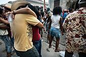 Santiago carnival. Santiago de Cuba. Cuba. - Stock Image - DECB0M