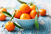fresh mandarins, oranges - Stock Image - CEY867