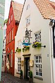 Schnoor Quarter, Bremen, Germany - Stock Image - E6RATK