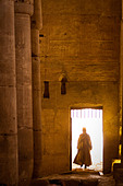 Interior of the Temple of Seti I, Abydos, Egypt, North Africa, Africa - Stock Image - BK5GWN