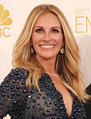 Los Angeles, California, USA. 25th Aug, 2014. JULIA ROBERTS attending the 66th Annual Primetime Emmy Awards arrivals at the Nokia Theatre. © D. Long/Globe Photos/ZUMA Wire/Alamy Live News - Stock Image - E6K5NG