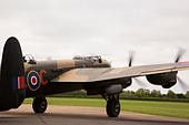 "East Kirkby Avro Lancaster ""Just Jane"" - Stock Image - D8CA96"