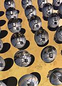 Satellite array  artwork - Stock Image - CNG2NX