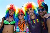 Lesbian Gay Bisexual Transgender Pride Parade, San Francisco, California - Stock Image - CPD229