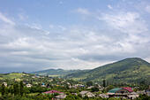 Caucasus mountains village, Tsandripsh, Abkhazia - Stock Image - EA39W1