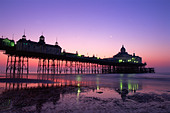 England, Sussex, Eastbourne, Eastbourne Pier - Stock Image - CP5X03