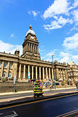 Town Hall, Leeds, Yorkshire, England - Stock Image - EX8E41