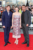 Thomas Vinterberg, Carey Mulligan and Matthias Schoenaerts attends the World Premiere of 'Far From The Madding Crowd' at BFI Southbank, London. 15/04/2015/picture alliance - Stock Image - EM7N98