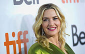 "Toronto, Canada. 13th Sep, 2014. Actress Kate Winslet attends the premiere of film ""A Little Chaos"" during the 2014 Toronto International Film Festival in Toronto, Canada, on Sept. 13, 2014. © Zou Zheng/Xinhua/Alamy Live News - Stock Image - E7CM91"