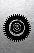 Cog wheels - Stock Image - BWYE87