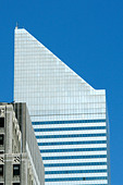 CitiBank Building in Manhattan New York City USA with Copy Space - Stock Image - AJXMCY