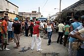 Santiago carnival. Santiago de Cuba. Cuba. - Stock Image - DCA65W
