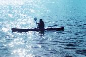 canoe - Stock Image - AKM2F1