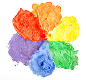 Color paint - Stock Image - D1E7R3