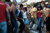 Santiago carnival. Santiago de Cuba. Cuba. - Stock Image - DECB0N