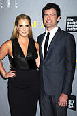 Amy Schumer and Bill Hader attending the 'Trainwreck' premiere at Alice Tully Hall on July 14, 2015 in New York Cityattend the 'Trainwreck' premiere at Alice Tully Hall on July 14, 2015 in New York City/picture alliance - Stock Image - EXNXAB
