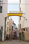 Schnoor Quarter, Bremen, Germany - Stock Image - E6RATN