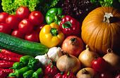 Fruit & Vegetables - Stock Image - B8R118