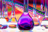 Chemical Glassware - Stock Image - CBAMT5