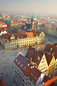 The Market Square, Wroclaw, Poland, Europe - Stock Image - CTX3KK
