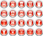 Vector collection of different music themes icons - Stock Image - DNNYFD
