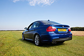 2006 BMW 330i M Sport in Le Mans blue - Stock Image - D4WY8D