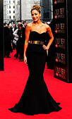 London, UK. 12th Apr, 2015. Nicole Scherzinger attend the Olivier Awards 2015 at The Royal Opera House Covent Garden  London 12th April 2015 © Peter Phillips/Alamy Live News - Stock Image - EKNBK0