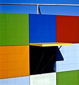 Architectural detail, Australia - Stock Image - BF223B