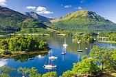 Bishops Bay, Loch Leven, Highland, Scotland, UK. - Stock Image - BRA3TM