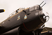 "East Kirkby Avro Lancaster ""Just Jane"" - Stock Image - D8CA95"
