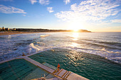 Bondi Icebergs, Sydney New South Wales Australia - Stock Image - D1KAJG
