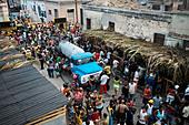 Santiago carnival. Santiago de Cuba. Cuba. - Stock Image - DF4FN8