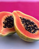 Papaya - Stock Image - D6EY80