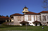 Winery building. Miolo Wine Groupe, Bento Goncalves, Vale dos Vinhedos, southern Brazil - Stock Image - AXD54M