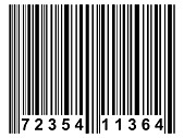 A simple black barcode like it is used on nearly all products. - Stock Image - BRD4K1