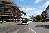 Tram in Bremen, Germany - Stock Image - E6RAWD