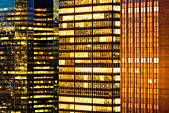 Skyscrapers in Midtown Manhattan, New York City - Stock Image - BPKKFB
