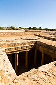 Tombs of the Kings, Paphos, Cyprus. - Stock Image - E9YYRN