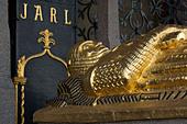 Sweden, Stockholm, Stadshuset, Tomb of Birger Jarl - Stock Image - AAPWAF