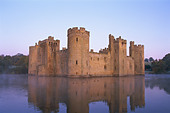England, Sussex, Bodium Castle - Stock Image - CP5W5C