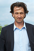 Christophe Dussutour, manager, winemaker chateau trottevieille saint emilion bordeaux france - Stock Image - BEAW2F