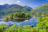 Bishops Bay, Loch Leven, Highland, Scotland, UK. - Stock Image - BRA4DY