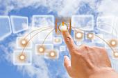 Cloud Computing - Stock Image - CR84YA