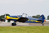 Piper Pawnee glider Tug of the RAFGSA. - Stock Image - CWH6EW