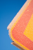 Colorful frosty metal - Stock Image - BHBP7J
