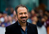 """Toronto, Canada. 11th Sep, 2014. Director Edward Zwick arrives for the world premiere of the film """"Pawn Sacrifice"""" at Roy Thomson Hall during the 39th Toronto International Film Festival in Toronto, Canada, Sept. 11, 2014. © Zou Zheng/Xinhua/Alamy Live News - Stock Image - E7B2MK"""
