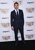 Hollywood, California, USA. 25th June, 2015. Channing Tatum arrives for the premiere of the film 'Magic Mike XXL' at the Chinese theater. © Lisa O'Connor/ZUMA Wire/Alamy Live News - Stock Image - EWGWMG