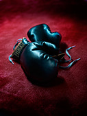 boxing gloves - Stock Image - D9WP1A
